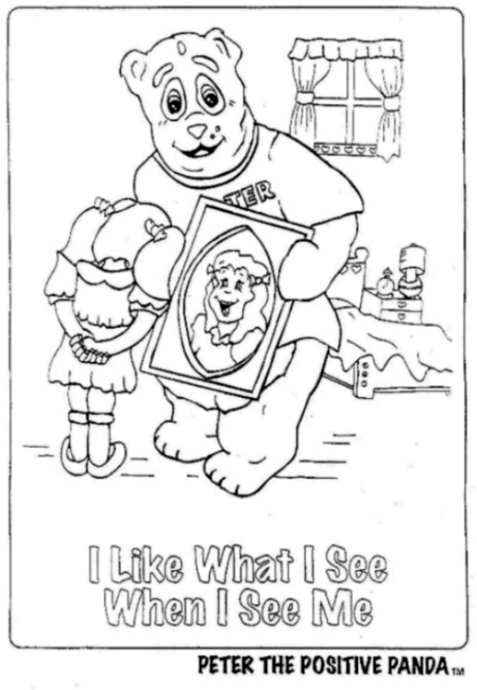 peterthepositivepandacom free posters to color - Posters To Color